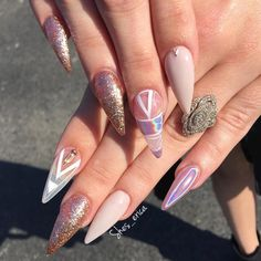 """259 Likes, 2 Comments - Nails Of IG (@clawaddicts) on Instagram: """" Credit @shes_erica #nails #claws #nailsofinstagram #clawaddicts #nailaddicts #naildesigns…"""""""