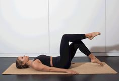 1. Toe Tap #pilates #workout #fitness http://greatist.com/move/pilates-best-exercises-to-do-without-reformer