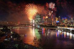 It's Riverfire - Brisbane, Australia