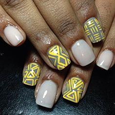 mspicasoonpurple #nail #nails #nailart