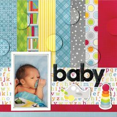 BoBunny: More Lovely Layouts ! The new Toy Box Collection. #BoBunny