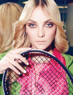 Hair, Makeup, Nails - Heather Marks Works Out in Style for Vogue Mexico, Lensed by Nagi Sakai