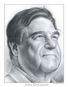 John Goodman by gregchapin.deviantart.com on @deviantART