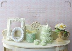 Dollhouse miniature dessert Gâteau des anges by CheilysMiniature