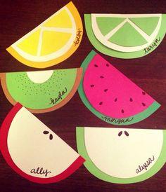 Template for Fruit Door Decs