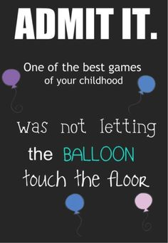 The balloon game