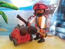 Playmobil Pirat / Seeräuber Figur mit Kanone, Gewehr und Säbel, TOP!!!
