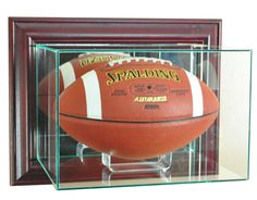 New Tom Brady Glass And Mirror Football Display Case Nfl Uv Cheap Sales Display Cases