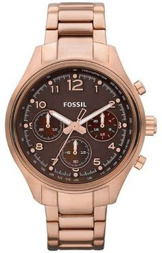 women's rose gold #fossil watch  - Click pics for a better price <3