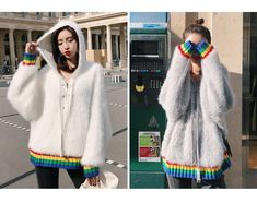 Playhouse Fluffy Hoodie (2 Colors)