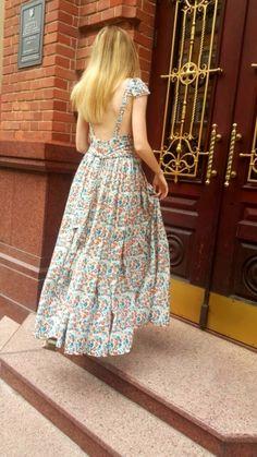 Сукня з глибоким вирізом на спинці | BurdaStyle.ua: Мода, Дизайн, Рукоділля, Викрійки