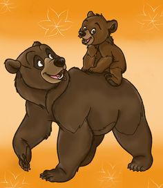 *KENAI & KODA ~ Brother Bear