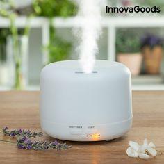 Remek design és szuper, 2 az 1-ben funkció! Próbáld ki Te is ajánlatunk – párásító és aroma diffúzor egyben! Kattints a részletekért!  #párásító #aroma_diffúzor Home Deco, Aromatherapy Humidifier, 20 M2, Lumiere Led, Aroma Diffuser, Lampe Led, Home Living, Cooking Timer, Innovation Design