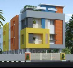 Building Design Building Elevation, Building Exterior, House Elevation, Building Design, Single Floor House Design, House Front Design, Facade Architecture, School Architecture, Facade Design