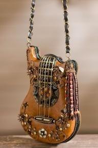 Boho Guitar Purse