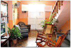 Detalle del interior de la vivienda. Cuba, Trinidad, Discos, Restaurants, Interiors