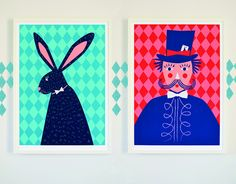 Prints by Famille Summerbelle New Collection: The Performers