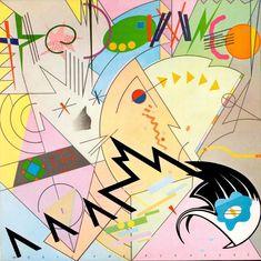 Barney Bubbles, cover art for The Damned, Music for Pleasure, 1977. Stiff Records, UK. Via lifeofvinyl