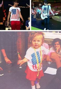 awwwwhhh!! even baby lux shares their clothes (;