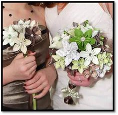 Wedding Flowers / Bridal Bouquet Bridesmaid by uncommonblooms, $1.00