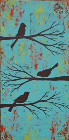 Aviary, 12×24 | little e studio
