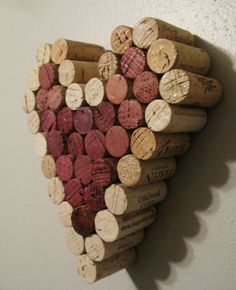 I've been collecting wine corks for a while now. My friend showed me this, and what a great idea! I may do this!
