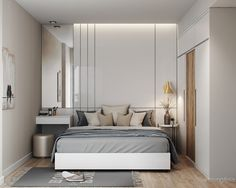 60m2 apartment - 1 bedroom on Behance