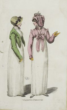 A green spencer and a pink spencer, 1809