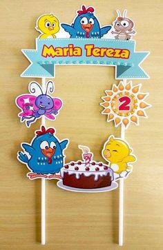 3rd Birthday, Happy Birthday, Baby Boy Dress, Candy Colors, Baby Shower Decorations, Party Time, Cake Toppers, Birthday Party Boys, Marcos Para Fiestas