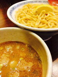 Beef Motsu Tsukemen  牛モツつけ麺ーー