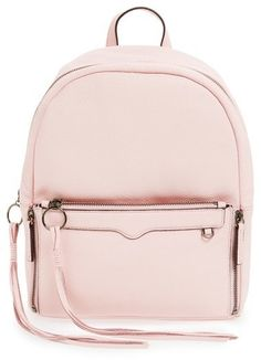 Amp up your traveling style with a backpack. We love this Rebecca Minkoff bag!