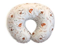 FORREST FRIENDS  Boppy Pillow Cover  Woodland by NewMomDesigns