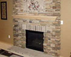 The Stone Fireplaces Are Very Common And Have A Strong Presence Everywhere.  Description From Creativefan