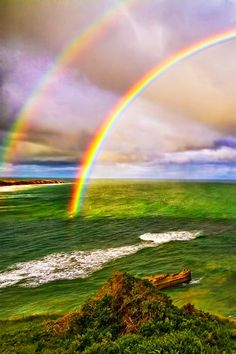 Ask yourself this: if we aren't under a globe, why do rainbows arc?  Shouldn't they just go straight off into space and disappear ..?