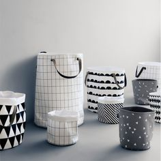 You can store almost everything in the textile baskets by Ferm Living! Whether you use them for storing laundry or toys, you will make it in style.