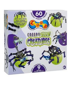 Love this Creepy Glow Creatures Building Set on #zulily! #zulilyfinds