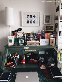 """My Personal Library, 2015 Up two bookcases from last year, my room is now basically in a state of """"Is that a free space? Room Interior, Interior Design, Aesthetic Rooms, Dream Rooms, Cool Rooms, New Room, House Rooms, Dorm Room, Sweet Home"""