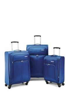 American Tourister  Splash Spin LTE Spinner Collection - Blue