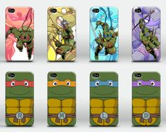 Teenage Mutant Ninja Turtles case for iPhone 4 4s 5