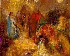 Christian Art - Christ and His Disciples - Odilon Redon