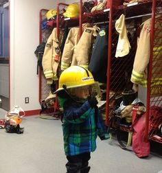 A visit to the fire station.