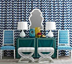 I love me some Jonathan Adler and am so excited that he's come out with an exclusive fabric line for Kravet ! Jonathan Adler has done count.