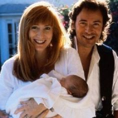 Today in 1990, Bruce Springsteen became a father when Patti Scialfa gave birth to a baby boy, Evan James