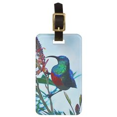 Travel in style with Hummingbird luggage tags from Zazzle! Make your tags today! Travel Luggage, Luggage Bags, One Bag, Hummingbird, Travel Style, Tags, Hummingbirds, Mailing Labels