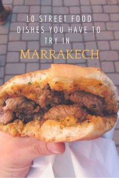 The best Street Food to try in Marrakech, Morocco. This place has such a variety of flavours, herbs and smells to offer that you instantly fall in love with it. Check it out!