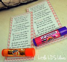 Little LDS Ideas: {Young Women} Chapstick Handout