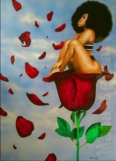 65 Ideas for black art queens goddesses african americans Art Black Love, Sexy Black Art, Black Girl Art, Art Girl, Black Girls Drawing, Black Is Beautiful, Graffiti Kunst, Images D'art, Life Images