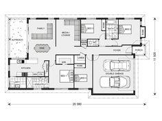 Seacrest 214, Home Designs in New South Wales | G.J. Gardner Homes