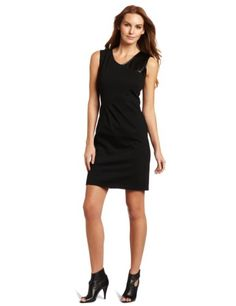 maxandcleo Women's Ponte Leather Dress « Clothing Impulse