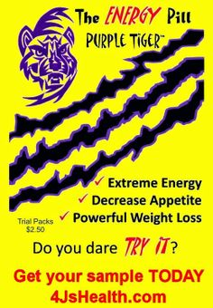 Forget the $2.50 for the samples.... I have FREE samples for you!!! Jim@4JsHealth.com or order a bottle of Purple Tiger Going Green, Purple Tiger, Purple Tiger Gone Wild, or Purple Tiger SURGE at http://4JsHealth.com/